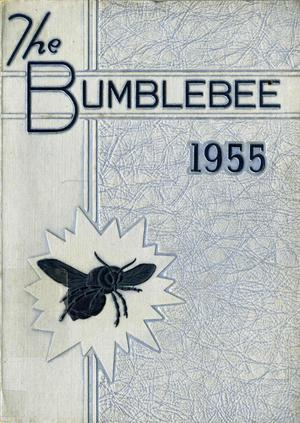 Primary view of object titled 'The Bumblebee, Yearbook of Lincoln High School, 1955'.