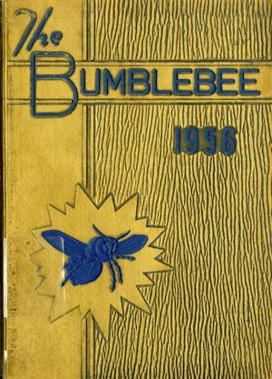Primary view of object titled 'The Bumblebee, Yearbook of Lincoln High School, 1956'.