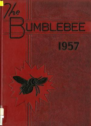 Primary view of object titled 'The Bumblebee, Yearbook of Lincoln High School, 1957'.