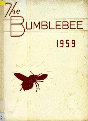 Primary view of object titled 'The Bumblebee, Yearbook of Lincoln High School, 1959'.