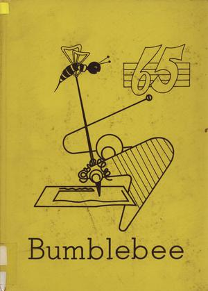 Primary view of object titled 'The Bumblebee, Yearbook of Lincoln High School, 1965'.