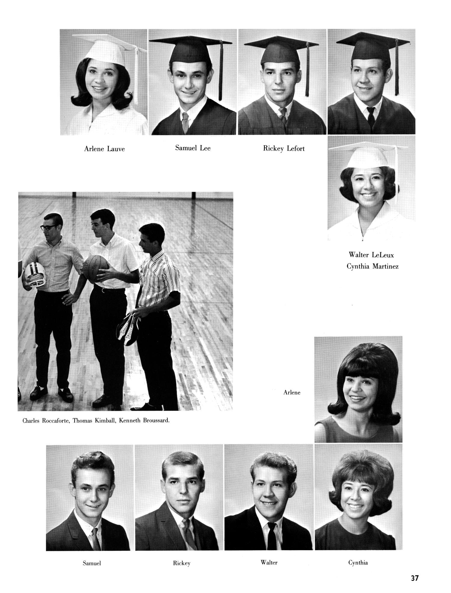 The Christopher, Yearbook of Bishop Byrne High School, 1966                                                                                                      37