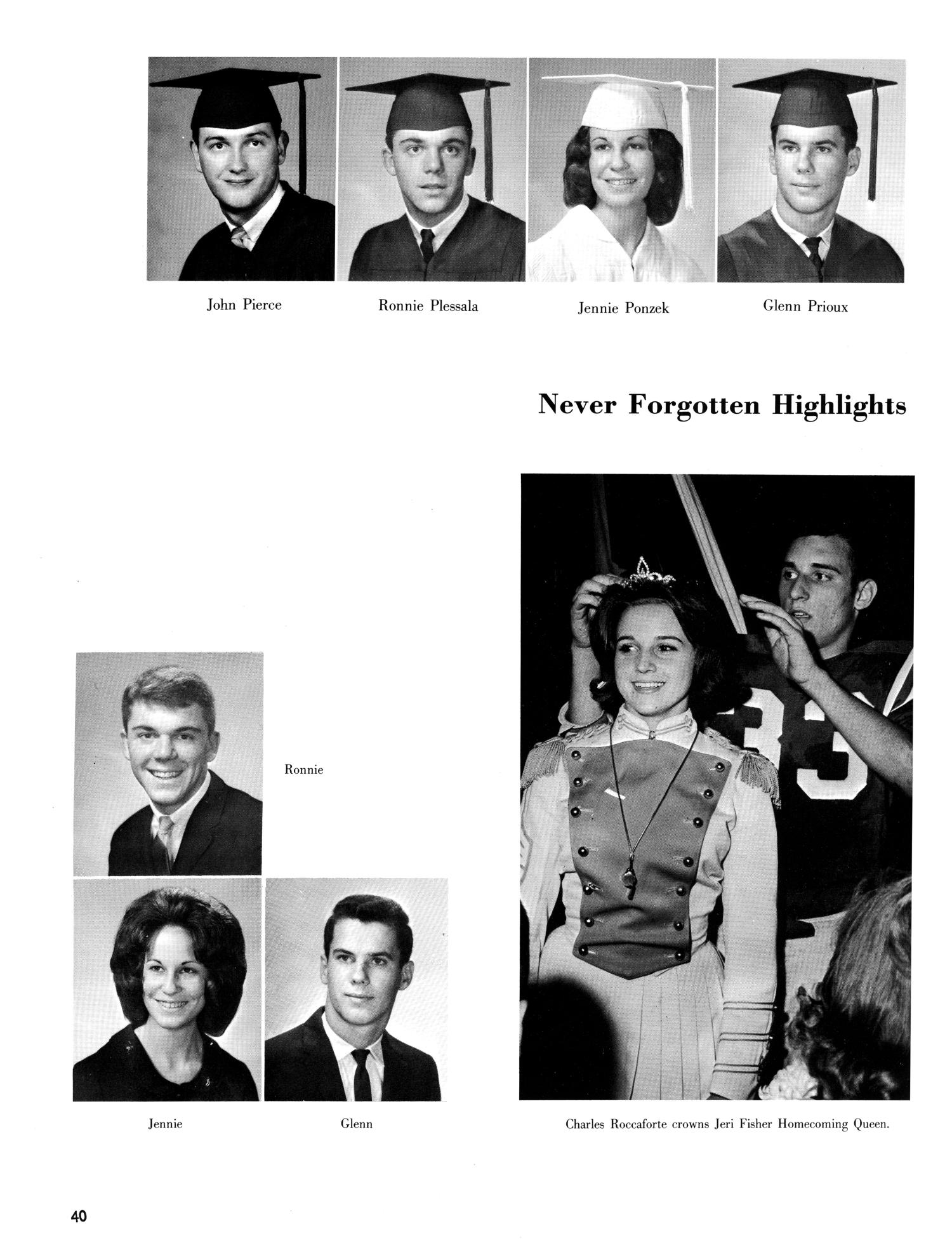 The Christopher, Yearbook of Bishop Byrne High School, 1966                                                                                                      40