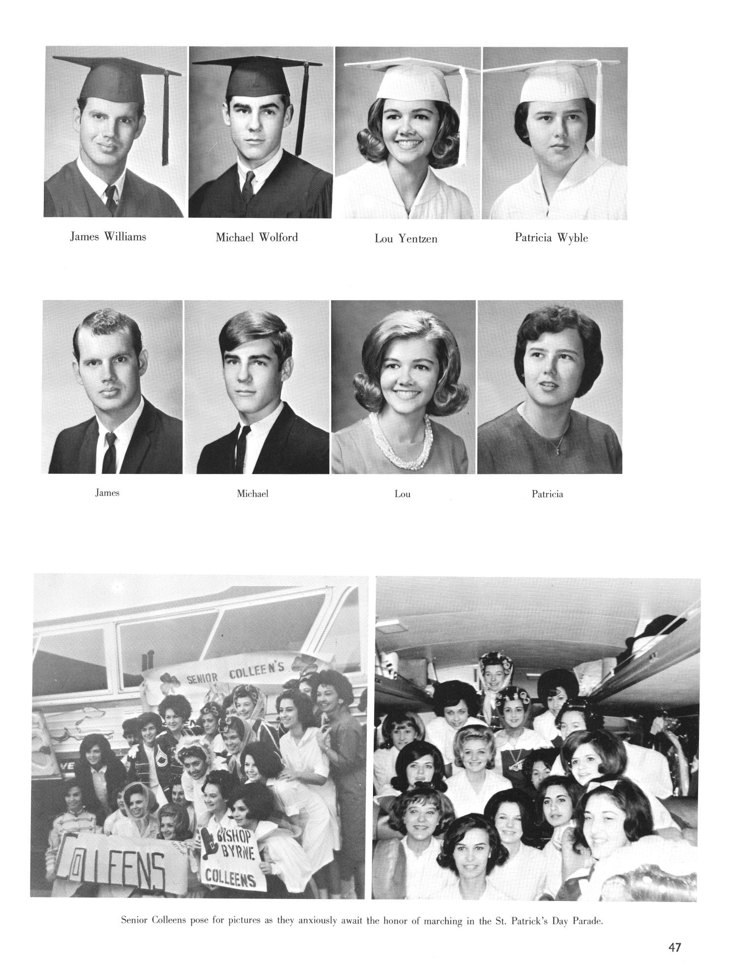 The Christopher, Yearbook of Bishop Byrne High School, 1966                                                                                                      47