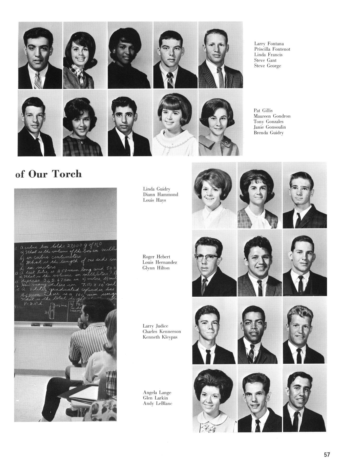 The Christopher, Yearbook of Bishop Byrne High School, 1966                                                                                                      57