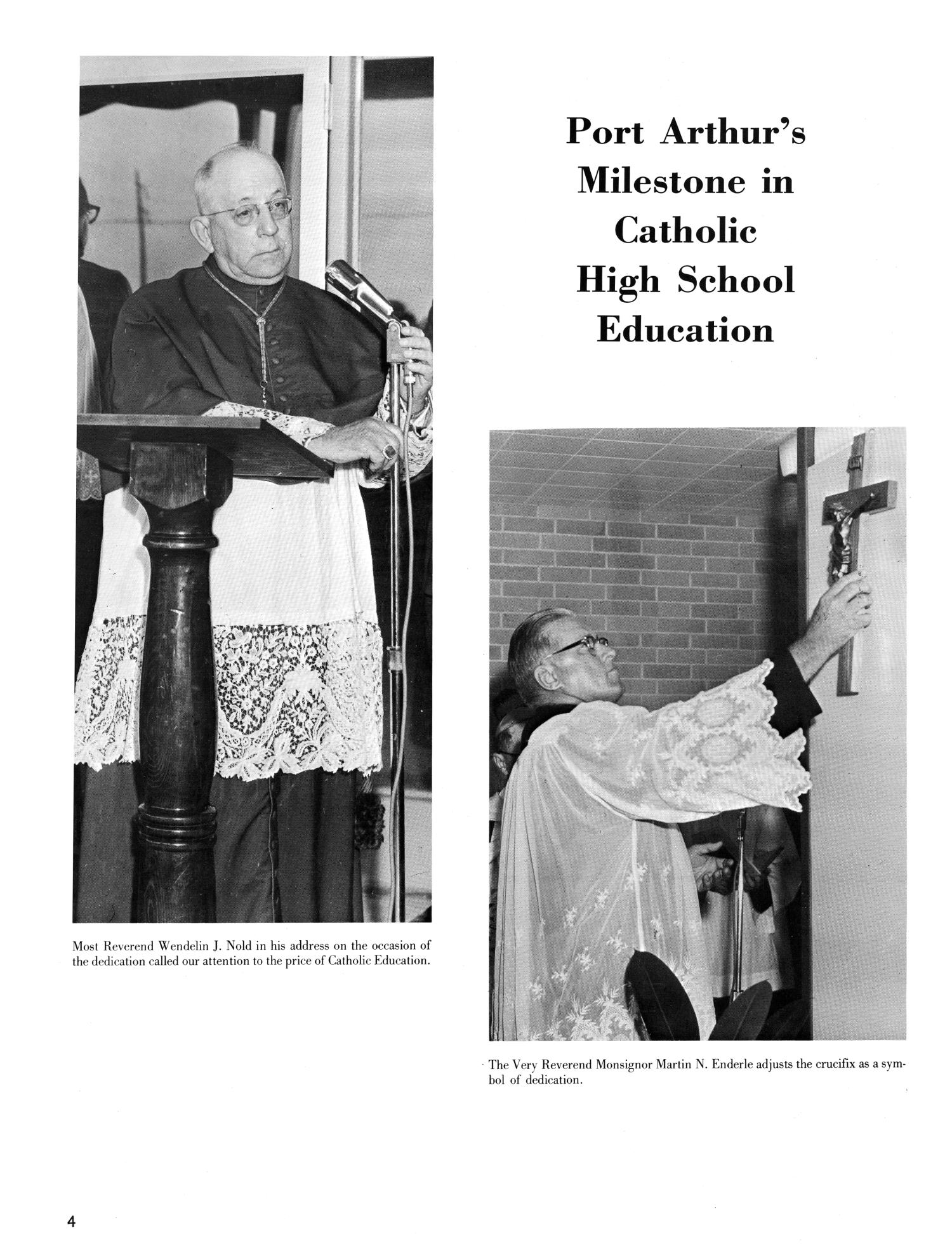 The Christopher, Yearbook of Bishop Byrne High School, 1966                                                                                                      4