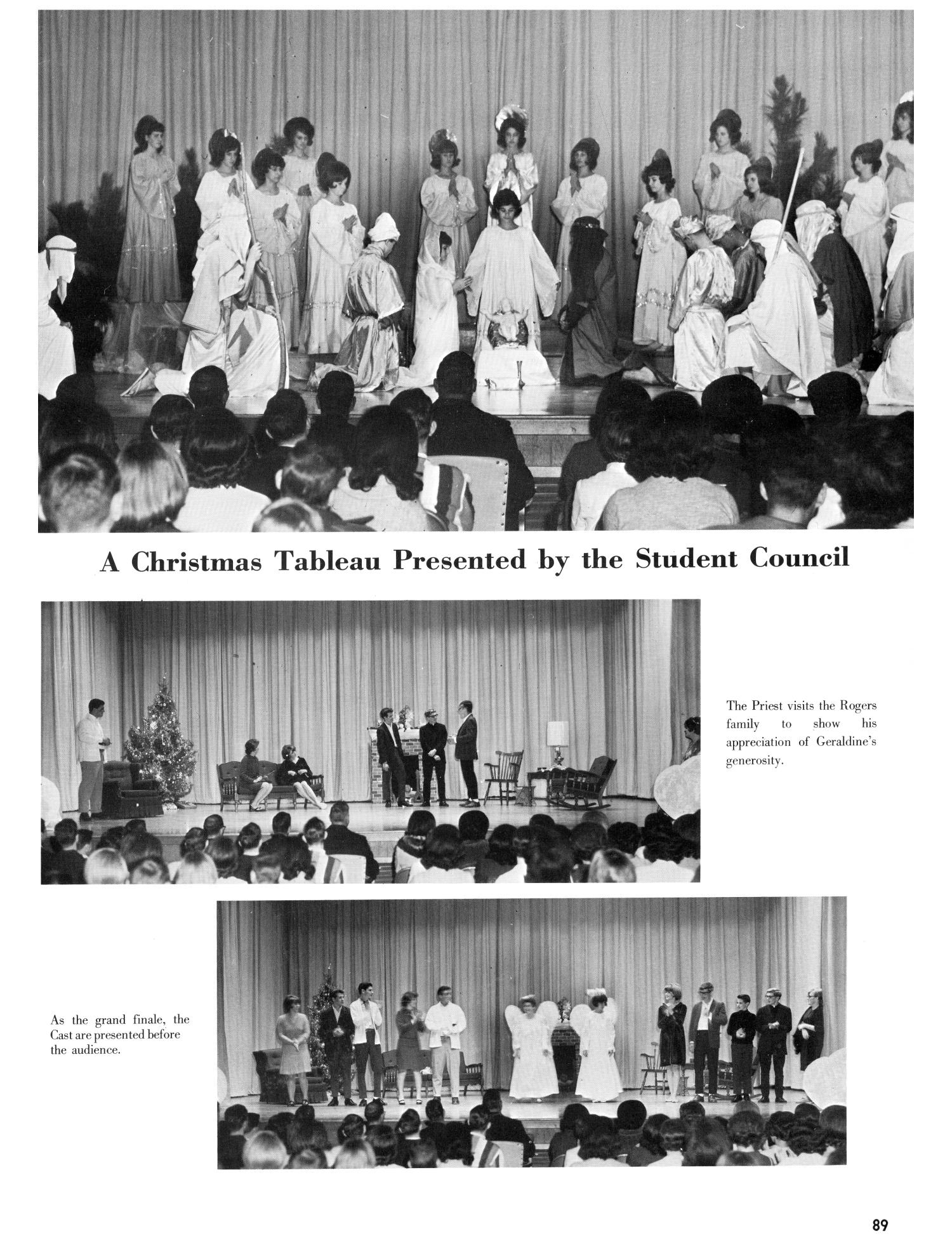 The Christopher, Yearbook of Bishop Byrne High School, 1966                                                                                                      89