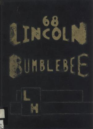 Primary view of object titled 'The Bumblebee, Yearbook of Lincoln High School, 1968'.