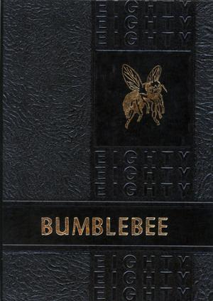 Primary view of object titled 'The Bumblebee, Yearbook of Lincoln High School, 1980'.