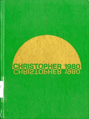 Primary view of object titled 'The Christopher, Yearbook of Bishop Byrne High School, 1980'.
