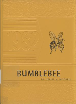 Primary view of object titled 'The Bumblebee, Yearbook of Lincoln High School, 1982'.