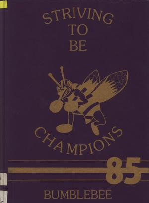 The Bumblebee, Yearbook of Lincoln High School, 1985