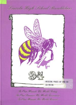 The Bumblebee, Yearbook of Lincoln High School, 1994