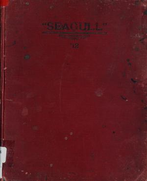 Primary view of object titled 'The Seagull, Yearbook of Port Arthur High School, 1912'.