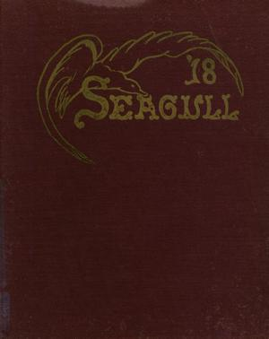 Primary view of object titled 'The Seagull, Yearbook of Port Arthur High School, 1918'.