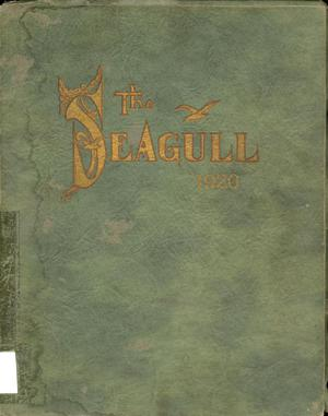 Primary view of object titled 'The Seagull, Yearbook of Port Arthur High School, 1920'.