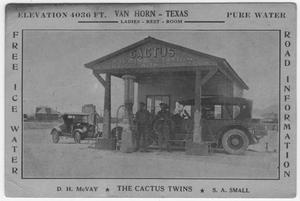 Primary view of object titled 'Cactus Filling Station'.