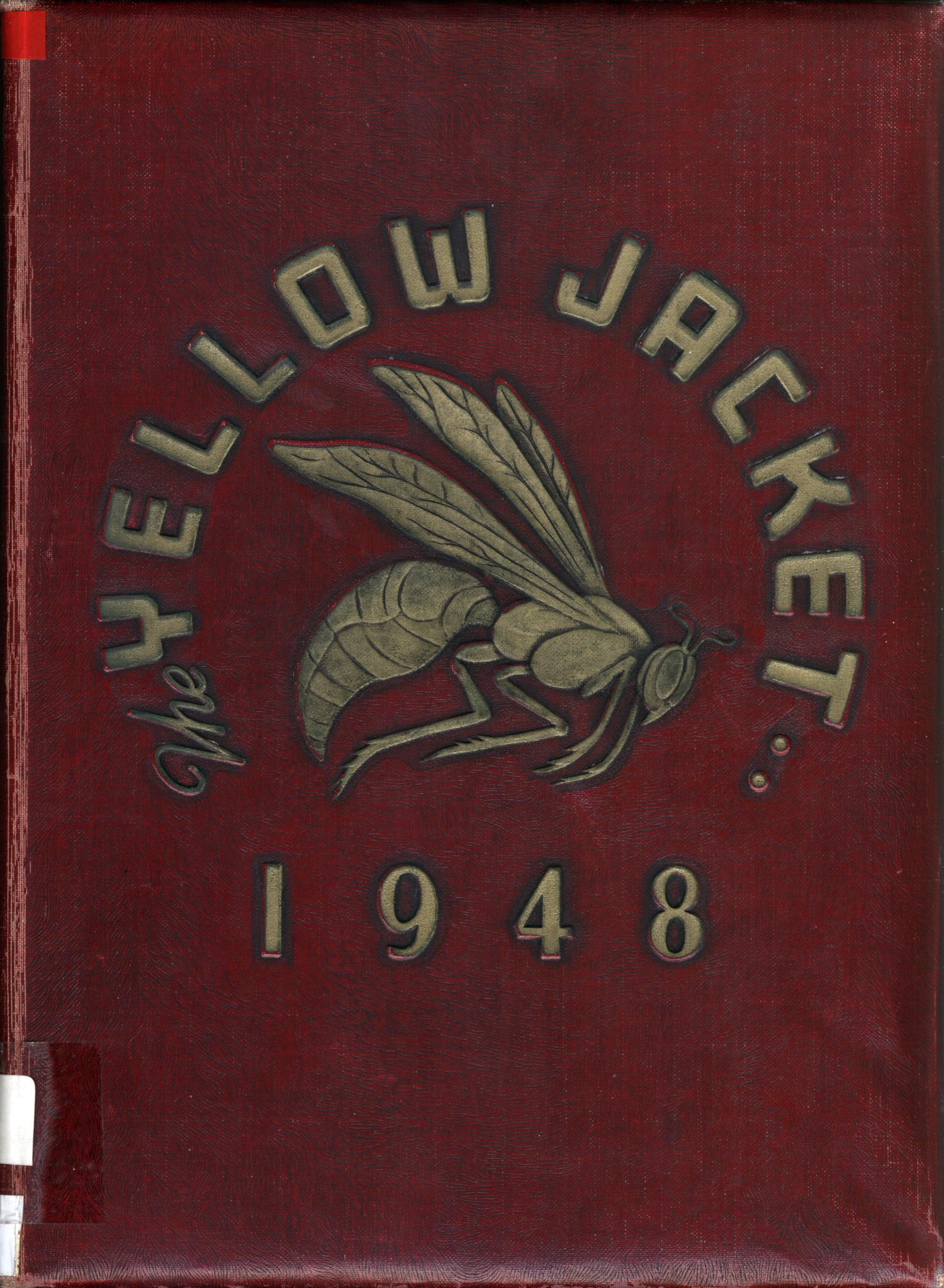 The Yellow Jacket, Yearbook of Thomas Jefferson High School, 1948                                                                                                      Front Cover