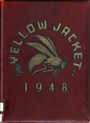 Primary view of object titled 'The Yellow Jacket, Yearbook of Thomas Jefferson High School, 1948'.