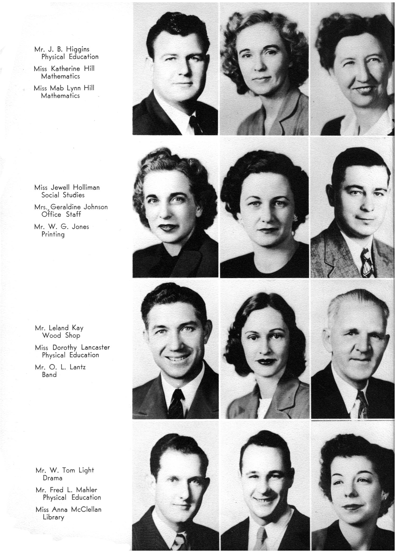 The Yellow Jacket, Yearbook of Thomas Jefferson High School, 1948                                                                                                      8