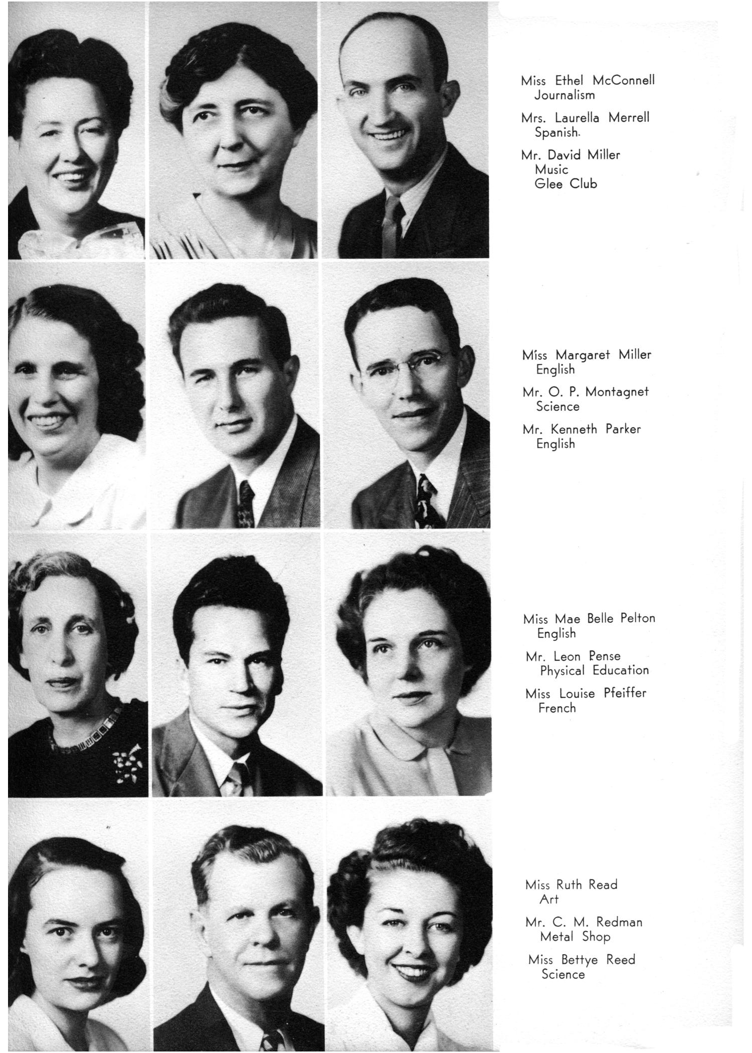 The Yellow Jacket, Yearbook of Thomas Jefferson High School, 1948                                                                                                      9