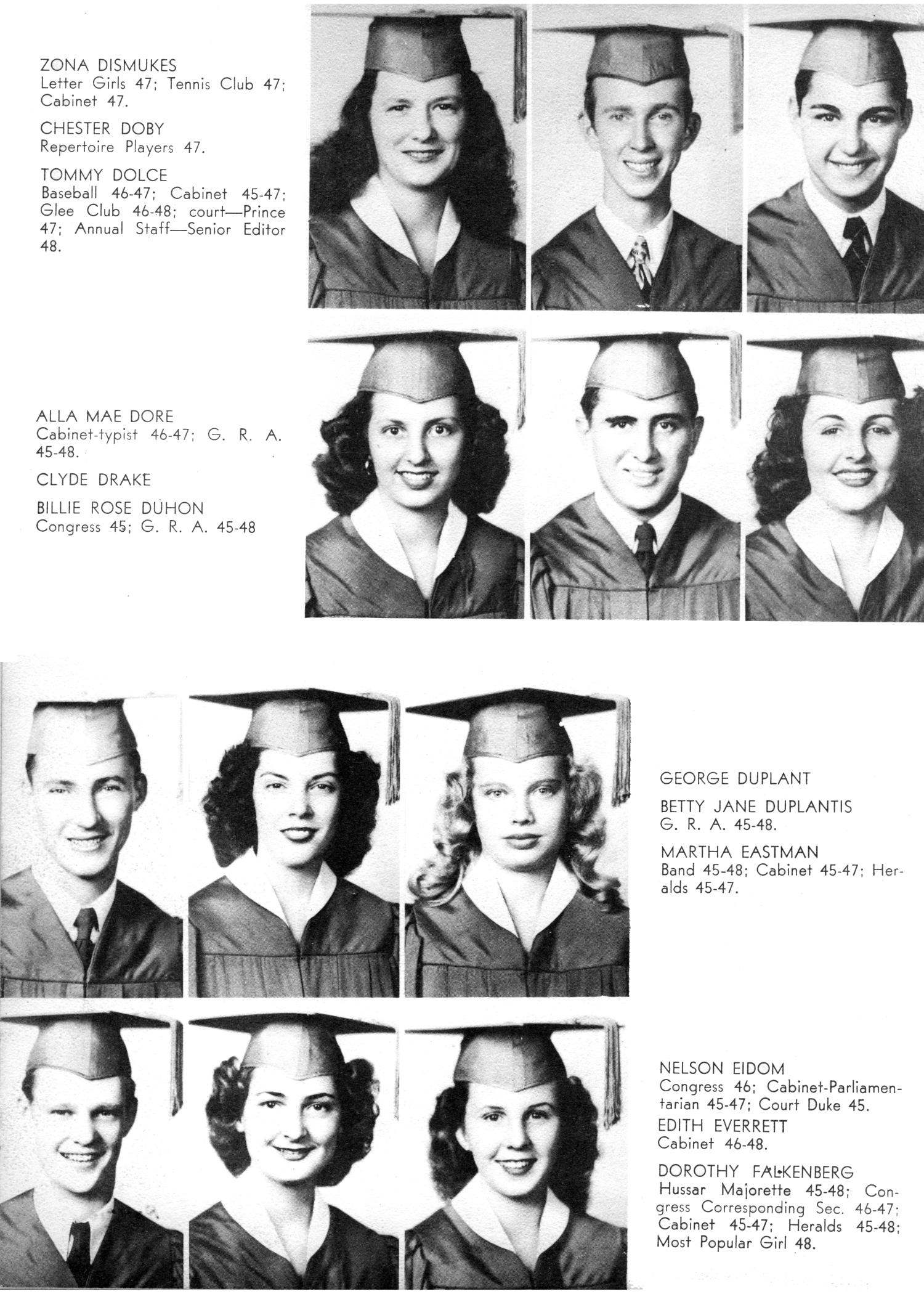 The Yellow Jacket, Yearbook of Thomas Jefferson High School, 1948                                                                                                      18