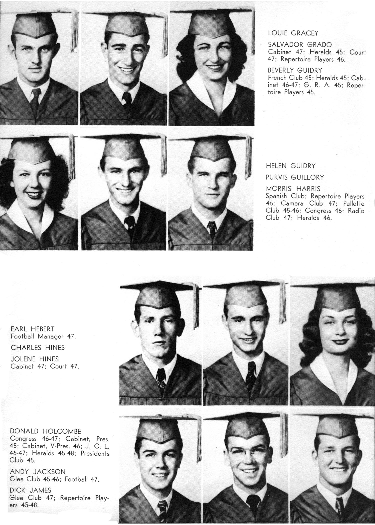 The Yellow Jacket, Yearbook of Thomas Jefferson High School, 1948                                                                                                      20