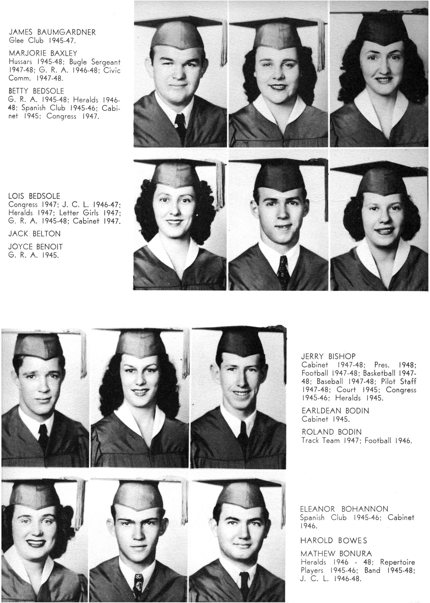 The Yellow Jacket, Yearbook of Thomas Jefferson High School, 1948                                                                                                      29
