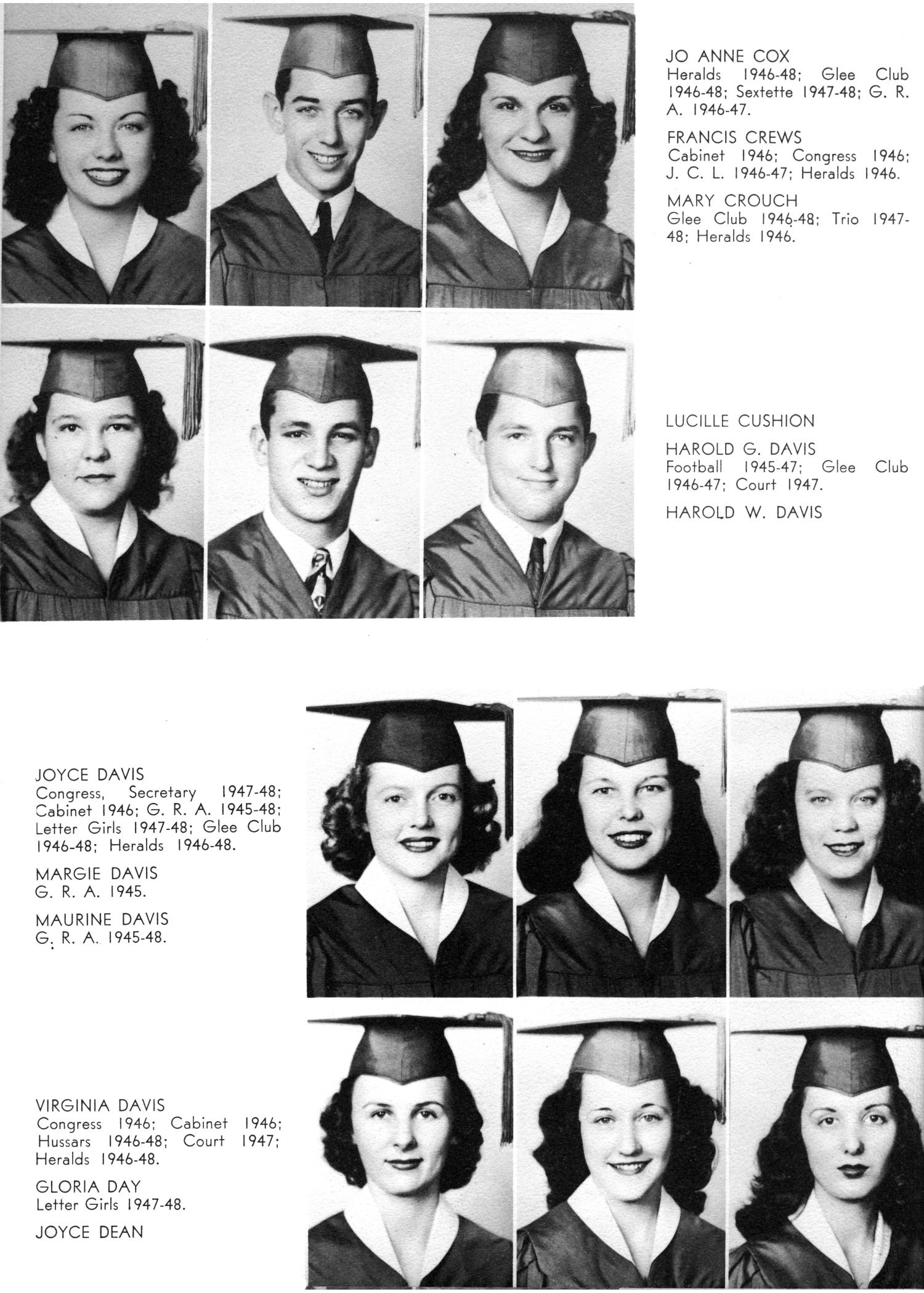 The Yellow Jacket, Yearbook of Thomas Jefferson High School, 1948                                                                                                      32