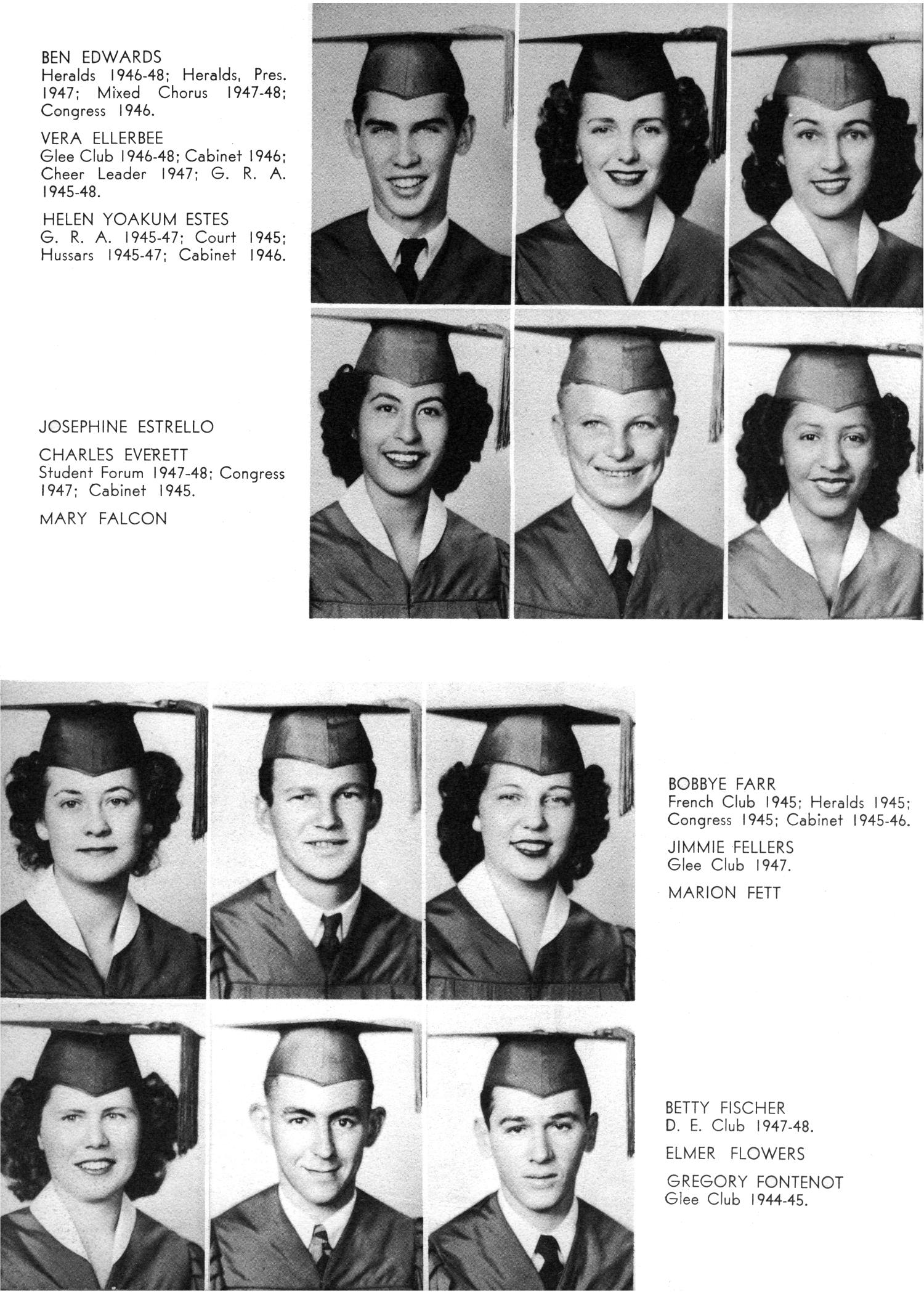 The Yellow Jacket, Yearbook of Thomas Jefferson High School, 1948                                                                                                      34