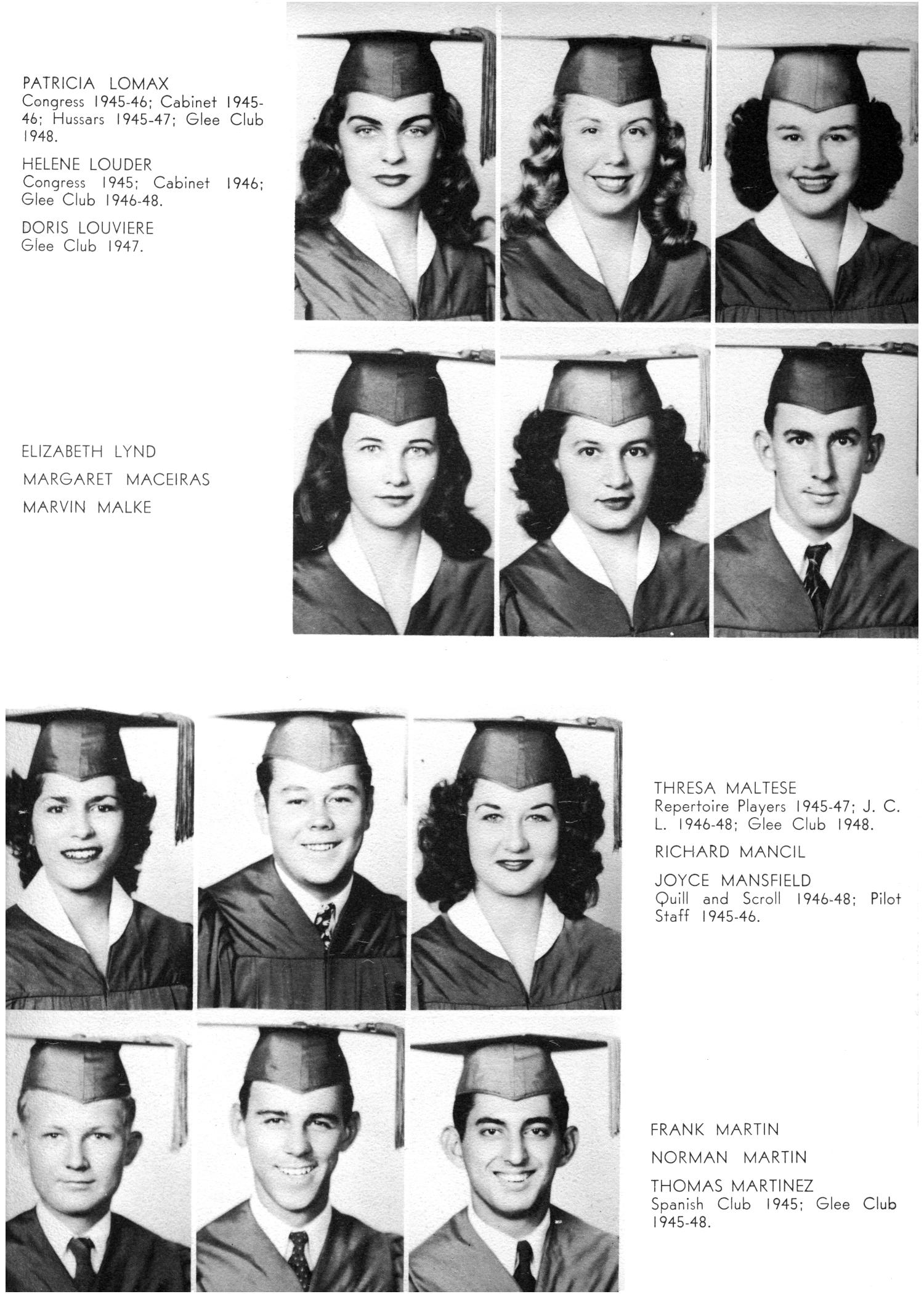 The Yellow Jacket, Yearbook of Thomas Jefferson High School, 1948                                                                                                      41