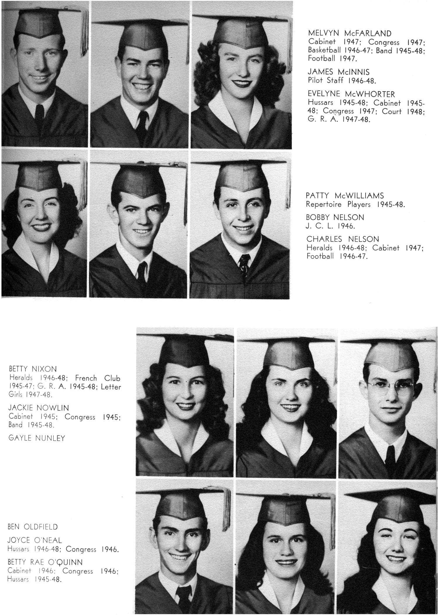 The Yellow Jacket, Yearbook of Thomas Jefferson High School, 1948                                                                                                      43