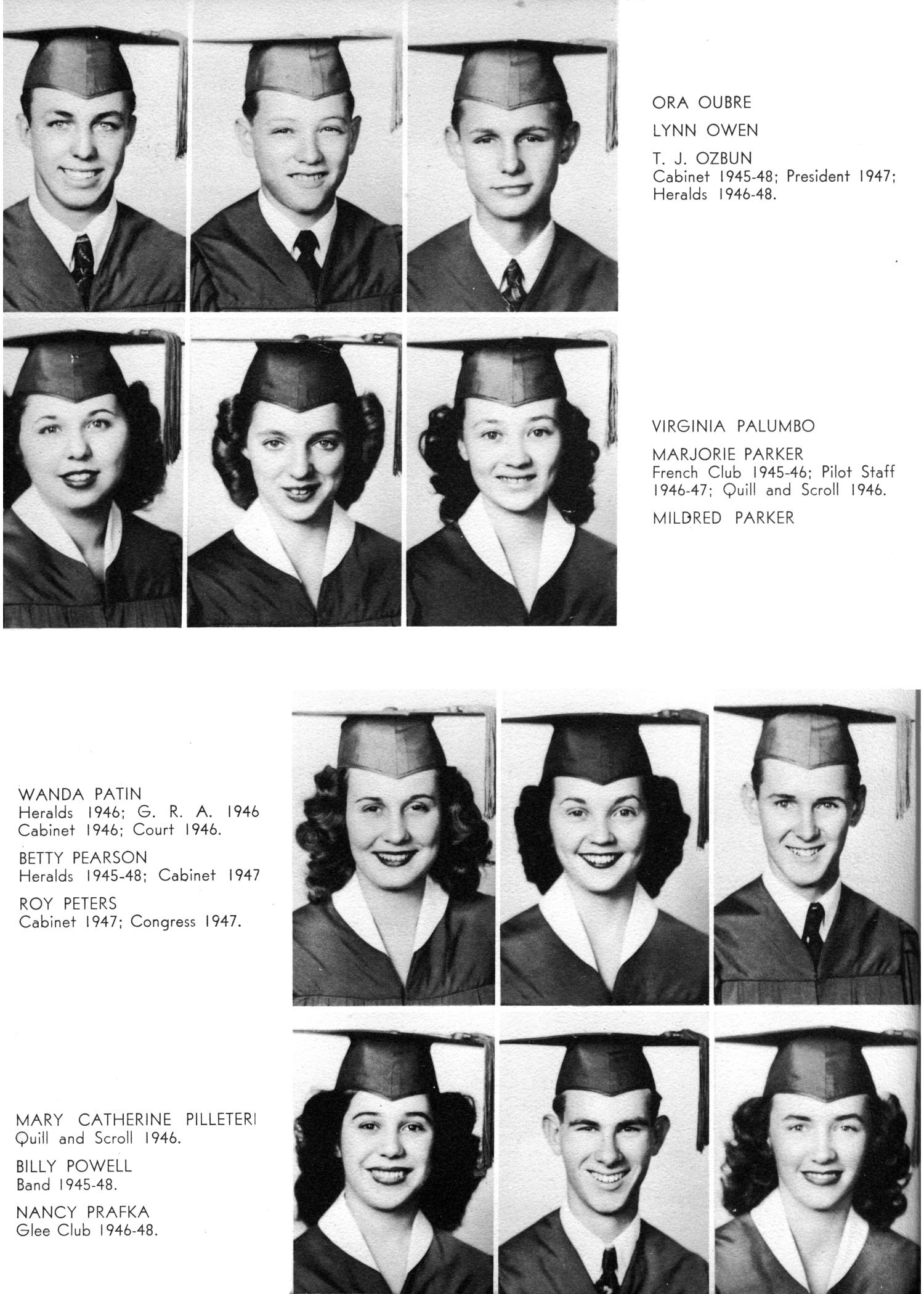 The Yellow Jacket, Yearbook of Thomas Jefferson High School, 1948                                                                                                      44