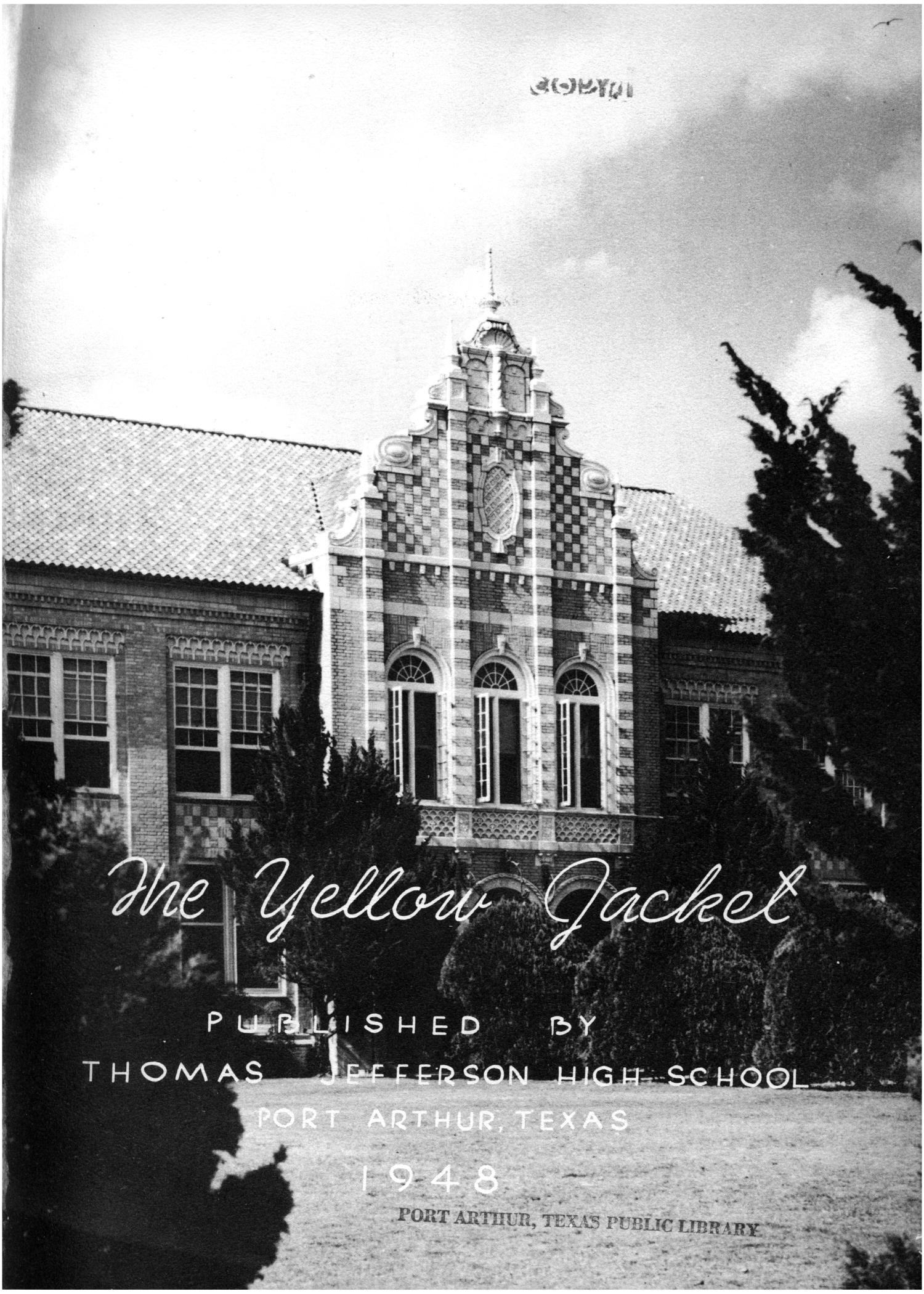 The Yellow Jacket, Yearbook of Thomas Jefferson High School, 1948                                                                                                      1