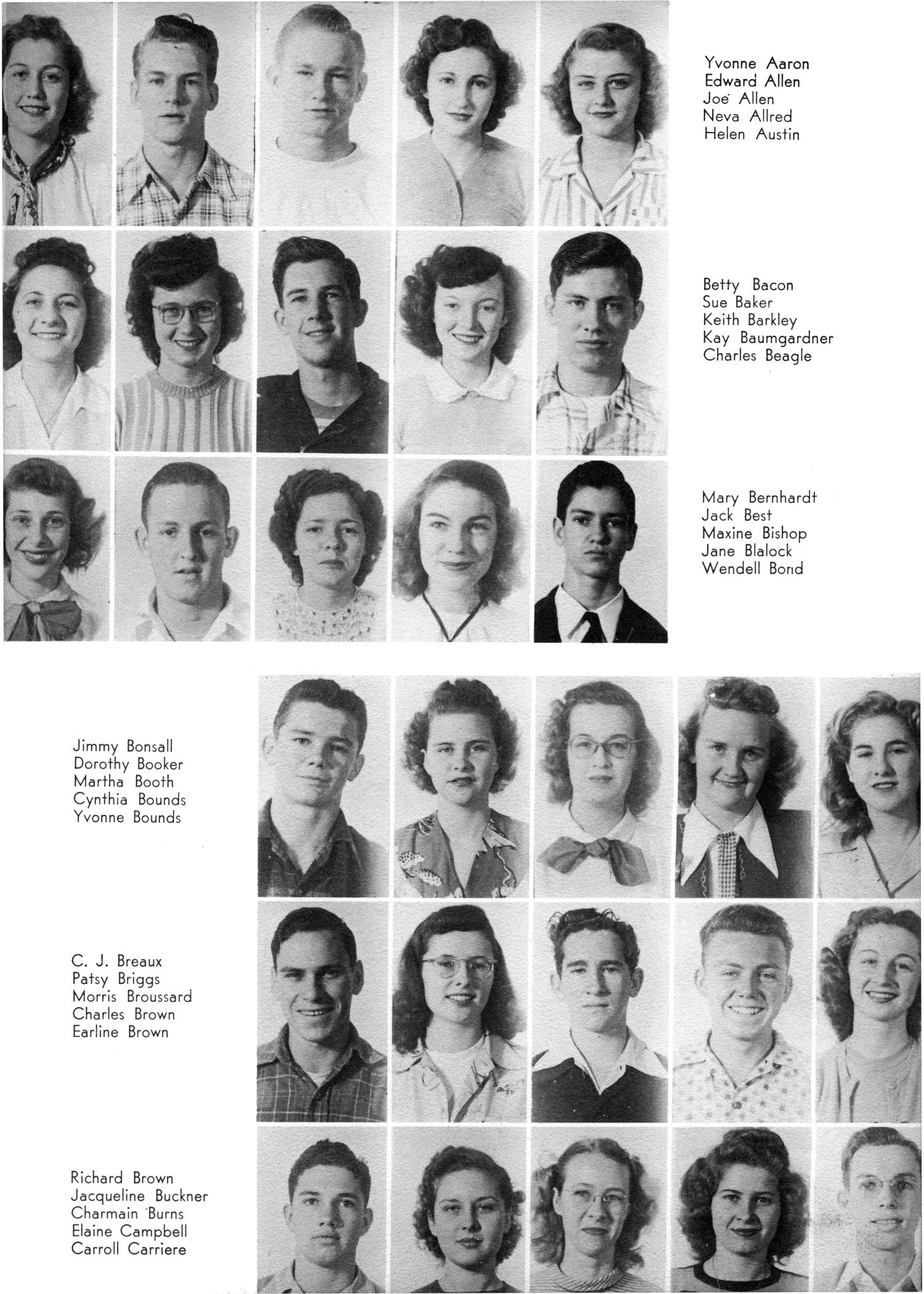 The Yellow Jacket, Yearbook of Thomas Jefferson High School, 1948                                                                                                      57