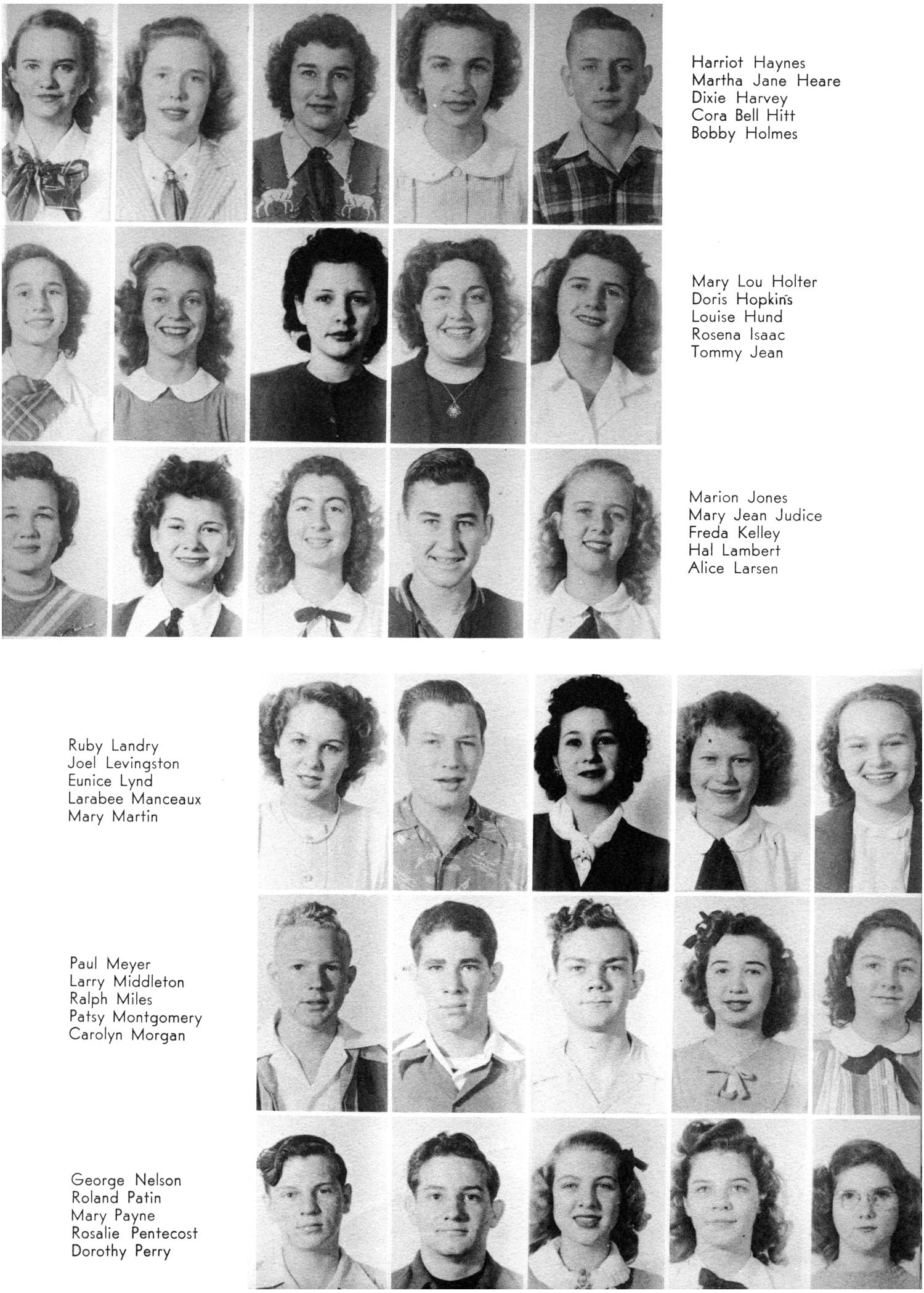 The Yellow Jacket, Yearbook of Thomas Jefferson High School, 1948                                                                                                      69