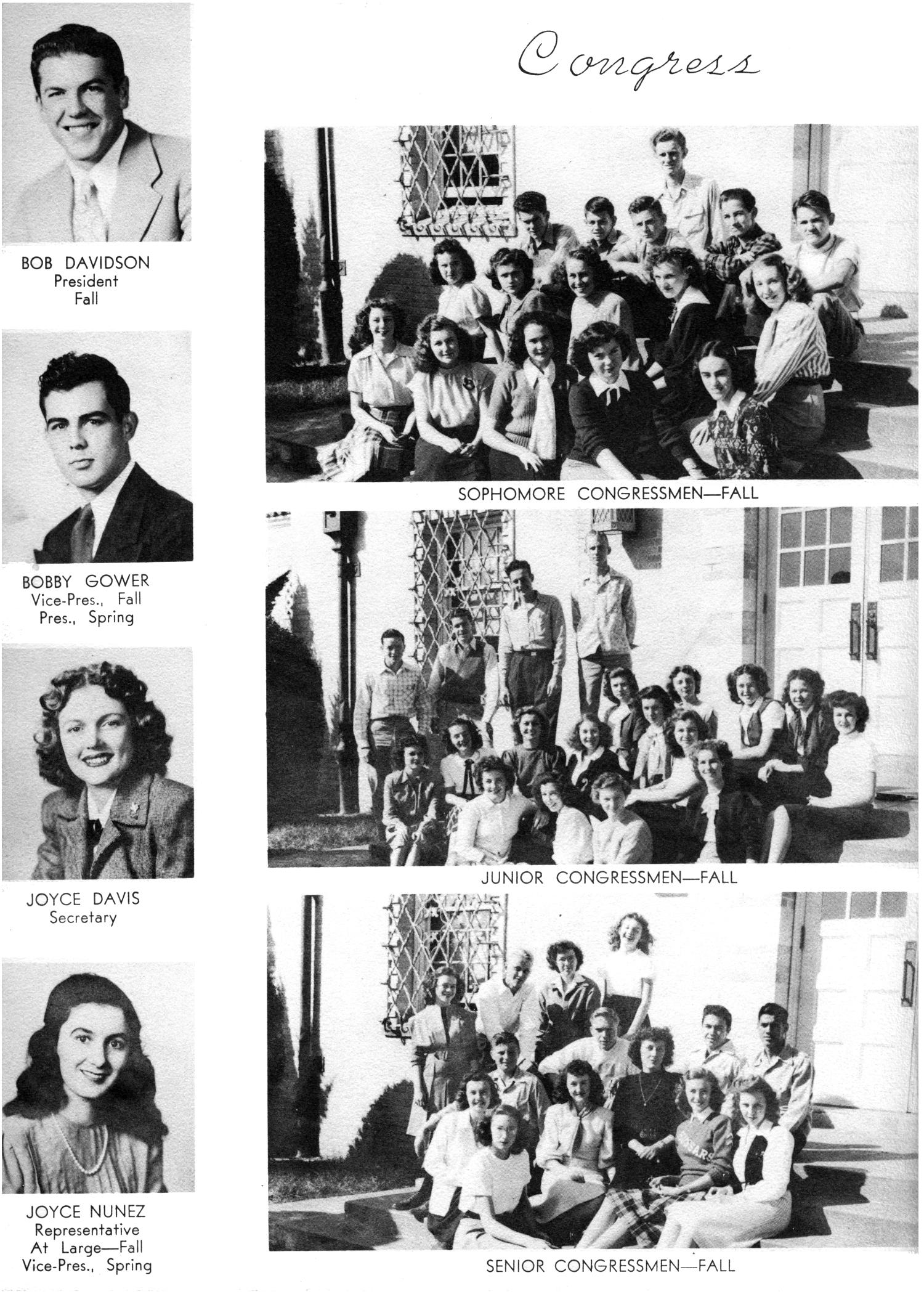 The Yellow Jacket, Yearbook of Thomas Jefferson High School, 1948                                                                                                      74