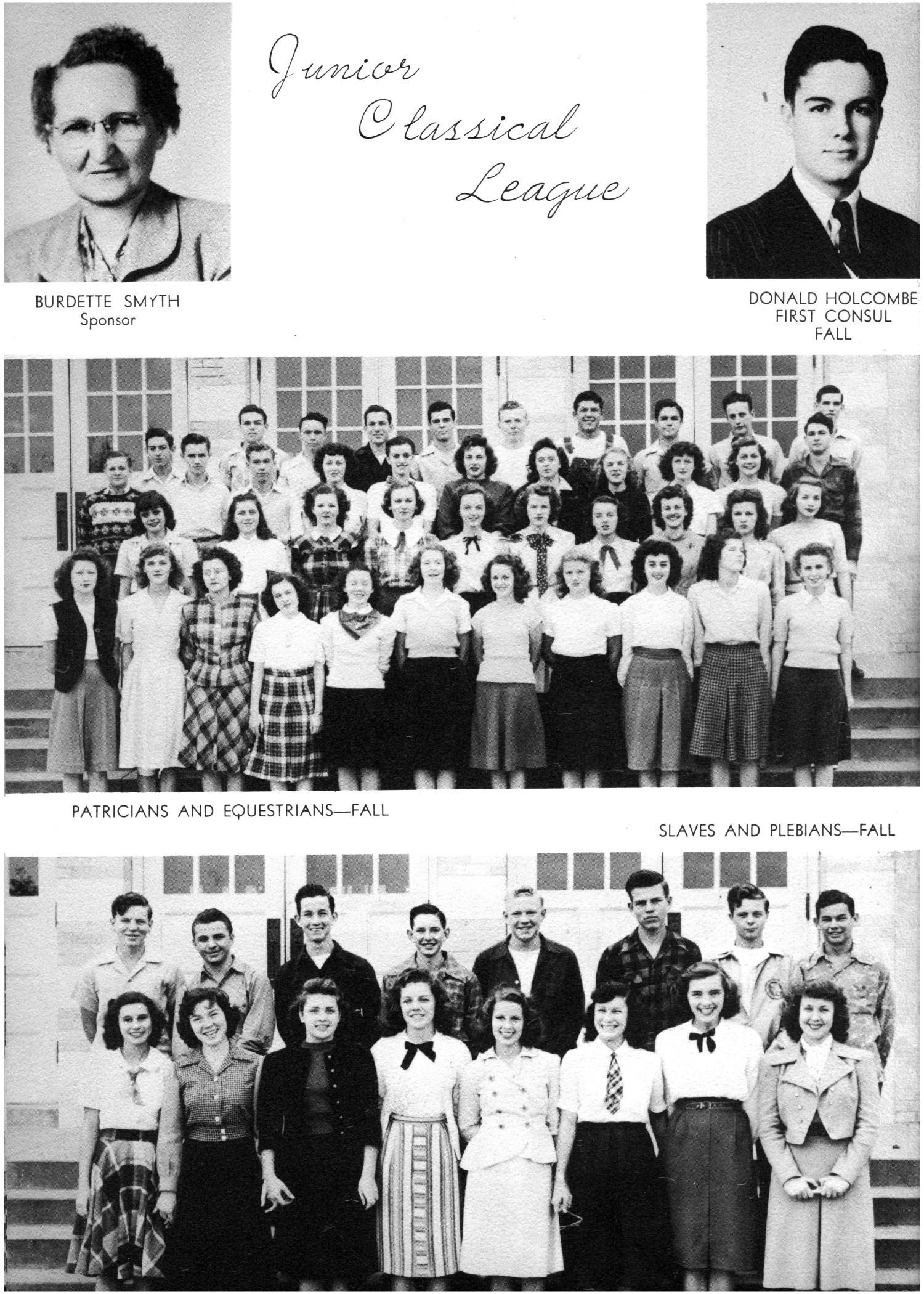 The Yellow Jacket, Yearbook of Thomas Jefferson High School, 1948                                                                                                      84
