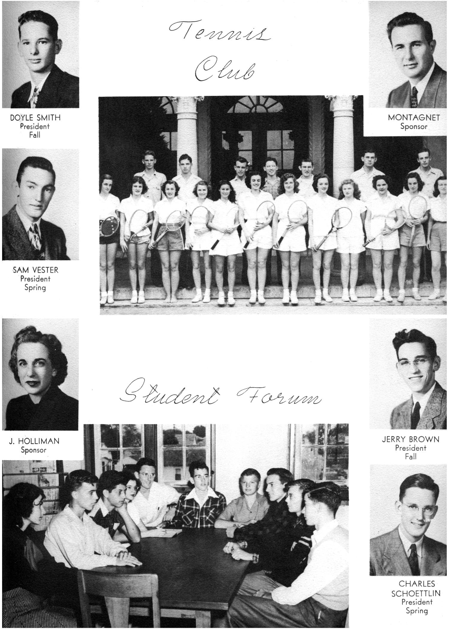 The Yellow Jacket, Yearbook of Thomas Jefferson High School, 1948                                                                                                      87