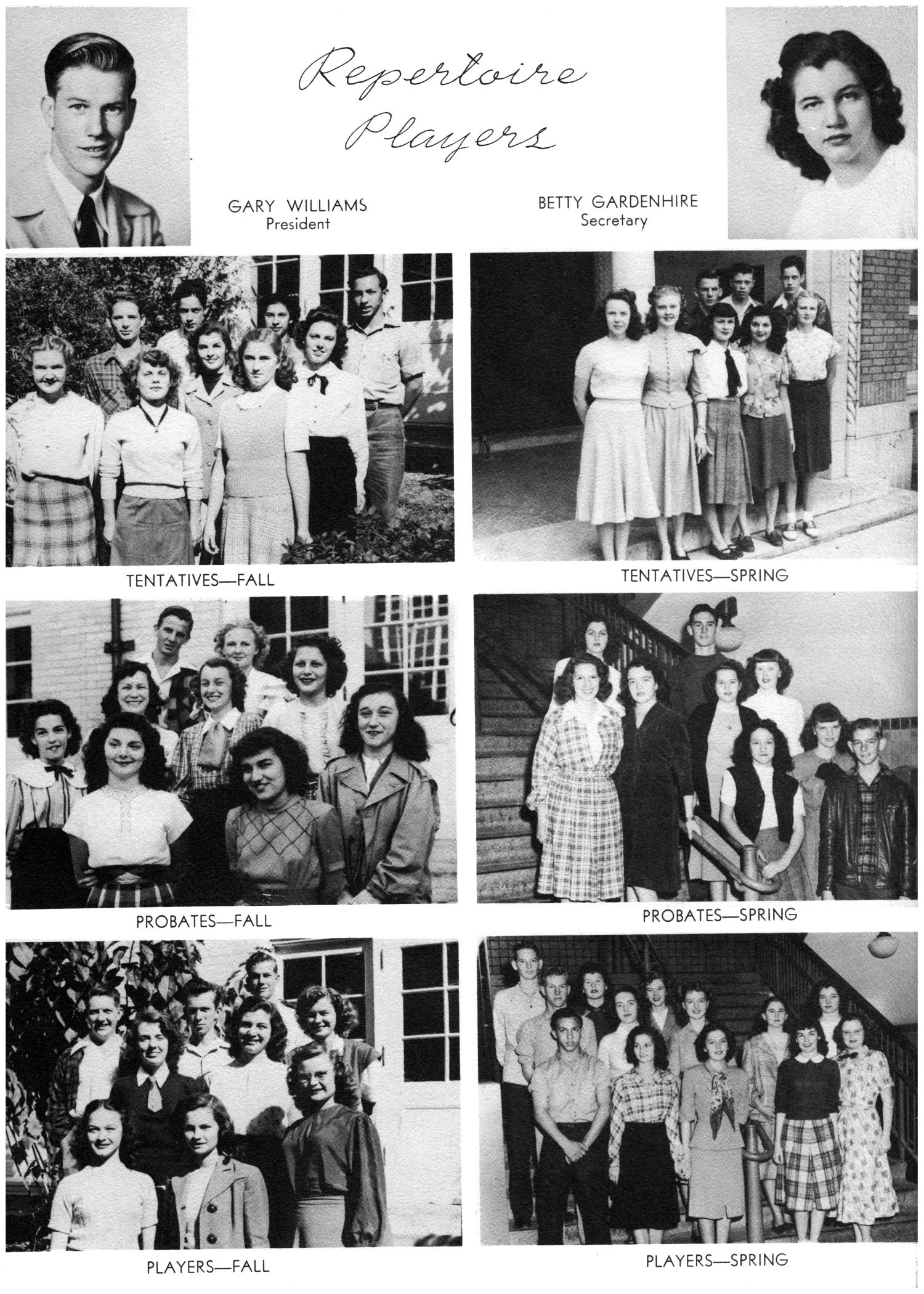 The Yellow Jacket, Yearbook of Thomas Jefferson High School, 1948                                                                                                      90