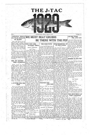 The J-TAC (Stephenville, Tex.), Vol. 6, No. 30, Ed. 1 Thursday, April 22, 1926