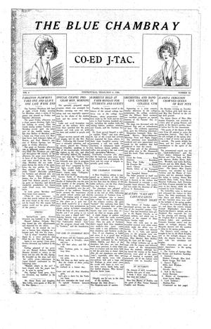The J-TAC (Stephenville, Tex.), Vol. 6, No. 32, Ed. 1 Thursday, May 6, 1926