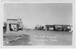 Primary view of object titled 'Broadway Street, Van Horn'.