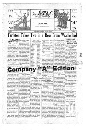 The J-TAC (Stephenville, Tex.), Vol. 8, No. 17, Ed. 1 Friday, January 20, 1928