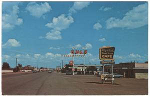 Primary view of object titled 'Broadway Street, Van Horn, 1970'.