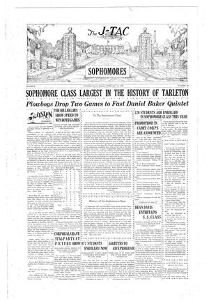 Primary view of The J-TAC (Stephenville, Tex.), Vol. 9, No. 19, Ed. 1 Saturday, February 16, 1929