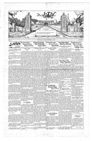 The J-TAC (Stephenville, Tex.), Vol. 10, No. 12, Ed. 1 Saturday, December 14, 1929
