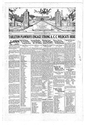 The J-TAC (Stephenville, Tex.), Vol. 10, No. 14, Ed. 1 Saturday, January 11, 1930