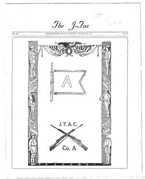 Primary view of object titled 'The J-TAC (Stephenville, Tex.), Vol. 11, No. 24, Ed. 1 Saturday, March 14, 1931'.