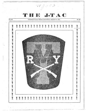 Primary view of object titled 'The J-TAC (Stephenville, Tex.), Vol. 11, No. 25, Ed. 1 Saturday, March 21, 1931'.